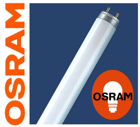 OSRAM | G13  L18/840 хол. белый 4000K  LUMILUX лампа люминесцентная OSRAM-СМ D26 590mm