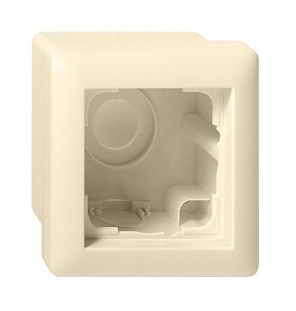 GIRA | 0061212 Корпус 2-местн.для накладного монтажа с рамкой F100 глянцевый белый Gira