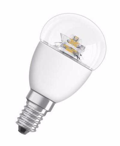 OSRAM   LED STAR CLASSIC P40 6W/827 E14 CL 470lm 220V - лампа OSRAM