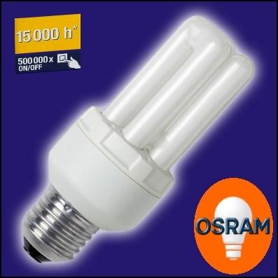 OSRAM | E27  7W/840 комп люм лампа Osram 292373