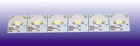 OSRAM   Светодиод  OS-DT6-B1синий  DRAGONTAPE  6x(25x2x2) OSRAM 015761