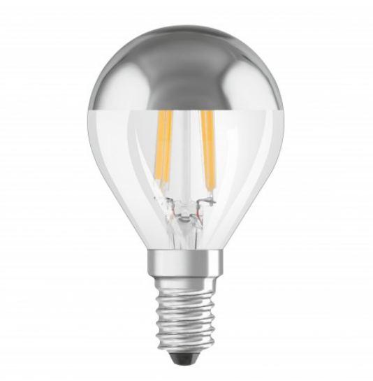 OSRAM | E14 P-45 40W сереб DECOR P SILVER лампа Osram 4050300002224