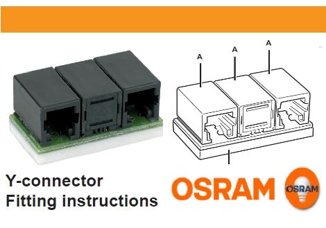 OSRAM | DALI Y-CONNECTOR MULTI3 OSRAM Osram 803135