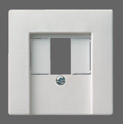 GIRA | 027640 Накл к роз TAE и роз подкл. стереоф акуст сист USB гл.крем Gira