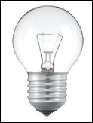 OSRAM | E27 P-45 25W мат лампа накал Osram 4052899054844