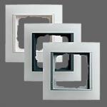GIRA | 021150 Рамка 1-местная матовый белый аллюминий Event Gira