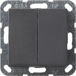 GIRA | 012528 Выключатель 2кл с самовозв антр Standart 55 Gira