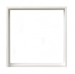 GIRA | 028203 Промежут. рамка с квадр. отверст. (50х50) глянц. белый Gira
