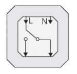 GIRA | 011600 Универсальный переключатель с подсветкой  Gira