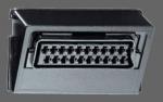 GIRA | 009300 Вставка с гнездом разъем. для подкл.устройств влспр.звука и изобр Gira