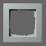 GIRA | 021525 Рамка 5-местная аллюминий E-2 Gira