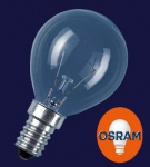 OSRAM | E14 P-45 60W проз  d45x80 CLASSIC P CL  лампа Osram 4008321666222