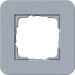 GIRA | 0211414 Рамка одинарная серо-голубой/белый глянцевый E3 Gira