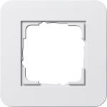 GIRA | 0211421 Рамка одинарная светло-серый/антрацит E3 Gira