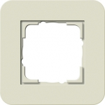 GIRA | 0211427 Рамка одинарная песочный/антрацит E3 Gira