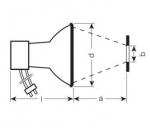 OSRAM | P15 150/NDL/FO HQI R OSRAM  OSRAM  металлогалогенная лампа 4008321691262