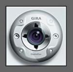 GIRA | 126565 Цветная камера для дверной станции  аллюминий Gira