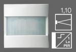 GIRA | 088026 Накладка датчика движения Standard 1.10 аллюминий System55 Gira