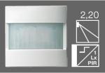 GIRA | 088926 Накладка датчика движения Standard 2.20 для выс. зон уст. аллюминий Gira