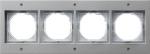 GIRA | 021465 Рамка 4-месная аллюминивая TX- 44 Gira