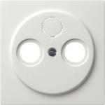 GIRA | 086940 Накл для гнезд и спутн.ан, белый S-Col Gira