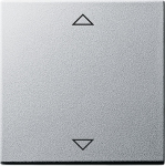 GIRA | 082226 Накладка управления кнопочным выключателем с функцией памяти и подключен. датч.,аллюминийGira