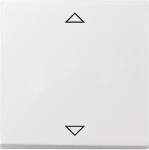 GIRA | 082203 Накладка  управления кнопочным  выключателем с функцией памяти и подкл. датчика, глянбел Gira