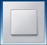 SIEMENS | 5TG1112-1  Рамка 2-местная, алюминиевый металлик Delta Miro Siemens