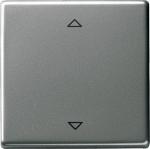 GIRA | 054520 Радиоуправляемый выключатель с возможностью подключения  датчиков Edelstahl Gira