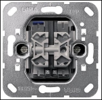 GIRA | 014500 Выключатель  2 клавишный LED подсветка оранжевый 10А 250V Gira
