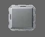 GIRA | 0126203 Выключатель 1кл с самовозв унив. перекл. под алюминий E22 Gira