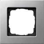 GIRA | 0211203 Рамка 1-местная аллюминий E22 Gira