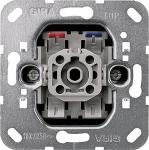 GIRA | 015000 Выключатель с замыкающим нулевым контактом кнопочный, 1 полюсный Gira