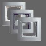 GIRA | 021436 Рамка 4-местная алюминий алюминий вс Event Gira