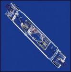 OSRAM | RX7s  HIT DE 150/Blue металлогалогенная лампа BLV №221321