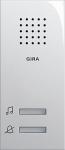 GIRA | 120001 Звонок накладного монтажа кремовый Gira