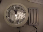 OSRAM | Спот G24q-3 2x26W D234 белый со стеклом KIT DOWNL ECO WT ЭПРА+лампы  OSRAM D234 d210 h145