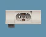 OSRAM | Цоколь S14d FASSUNG 675 патрон к LINESTRA с выключателем Osram 012766