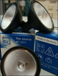 OSRAM | GU5.3 35W 36* галогенная лампа BLV REFLECTO FABRIC  4500h  черный