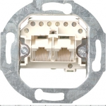 GIRA | 018800 Розетка TF+com UAE 3kat. 2x8-pole  Rutenbeck Gira