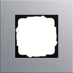 GIRA   021117 Рамка 1-местная аллюминий Esprit Gira