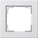 GIRA | 021122 Рамка 1-местная матовый белый E2 Gira