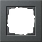GIRA | 021123 Рамка 1-местная антрацит E2 Gira