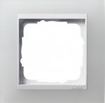 GIRA | 0211334 Рамка 1-местная мат.белая /глянцевая белая  Event Gira