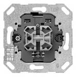 GIRA | 018200 Кнопочный шинный контролер 2-клавишный, 1-полюсной со светодиодной подсветкой