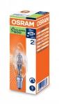 OSRAM | E14 свеча 28W прозрачная В ES 28W 230V 345m 2000h d35x104HALOGEN ENERGY SAVER CL Osram 4008321927385