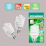 OSRAM | E27 20 (=100)W/827 DIM  SPIRAL лампа управление передним фронтом SYLVANIA 0024833
