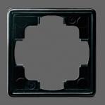 GIRA | 021147 Рамка 1-местная черный S-Color Gira