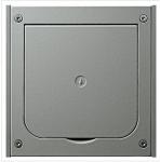 GIRA | 011820 Лючок в пол /сталь/ на 1 розетку Gira