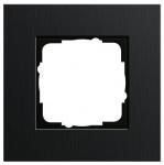 GIRA   0211126 Рамка 1-местная анодир.черная Esprit Gira